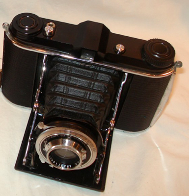 agfa b2 speedex vintage folding film camera 1940