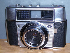 agfa optima vintage film camera 1959