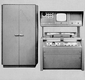 ampex vtr1000, first commercialvideol tape recorder 1956