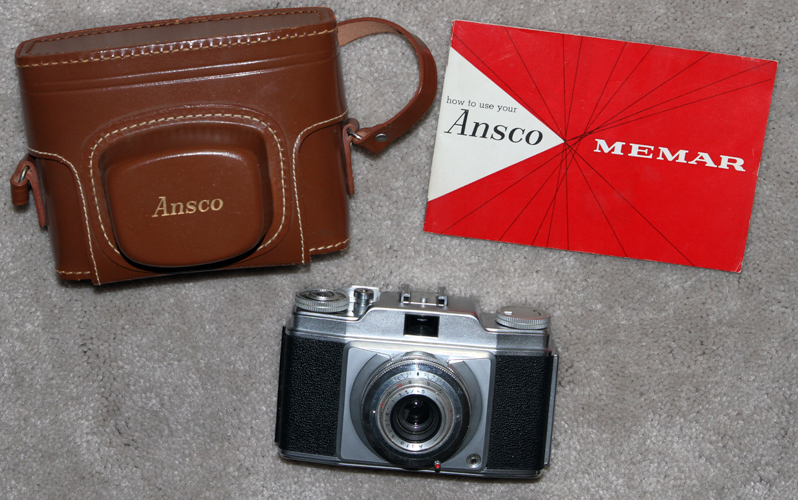 ansco memar pronto vintage film camera 1953