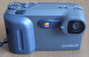 Blue Apple Quicktake 200 digital camera