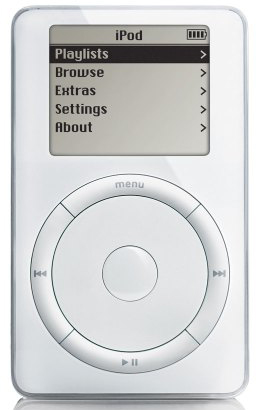 apple ipod 8541 vintage iod 2001
