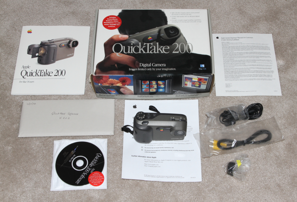 Apple Quicktake digital camera 200 kit
