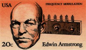 u.s. stamp honoring edwin armstrolng