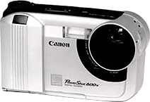 canon powershot 600n digital camera 1997