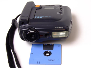 canon rc-260 ion hi-band still video camera frolnt 1991