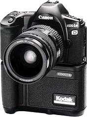 kodak canon eos dcs 1 digital camera 1995
