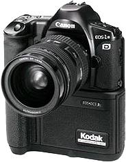 kodak canon eos dcs 3 based on caonon eos-1n 1995