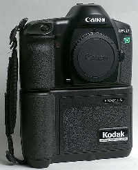 kodak canon eos dcs 5 digital camera 1995