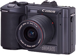 canon rc-701 still video camera front view 1986