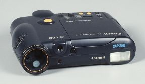 canon rc-250 xapshot ion still video camera 1988