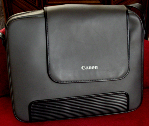 canon rc-250 carying case exterior 1988