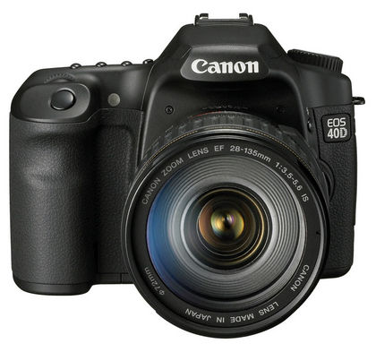 canon eos 40 vintage dslr digital camera 2007
