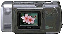 casio qv-120 digital camera 1997