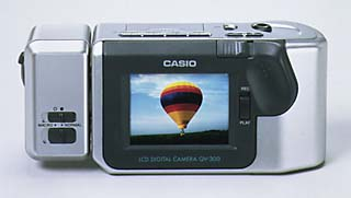 casio qv-300 digital camera 1996