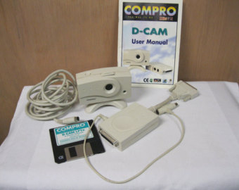 Compro D-Cam digital webcam kit