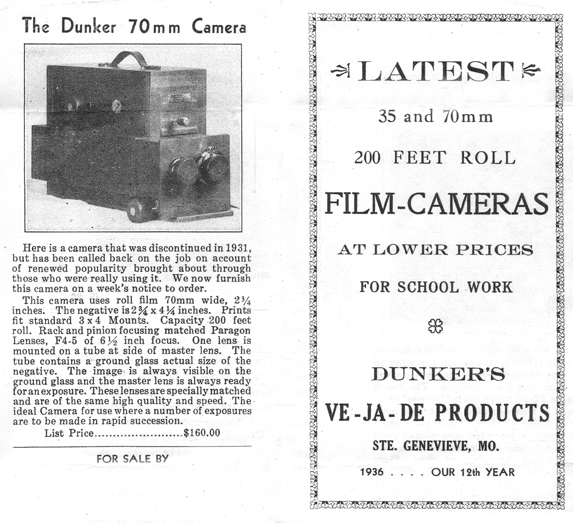 long role film camera by vincent dunker