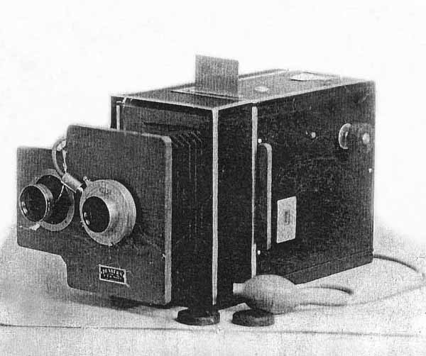 vintage bellows camera by vincent dunker