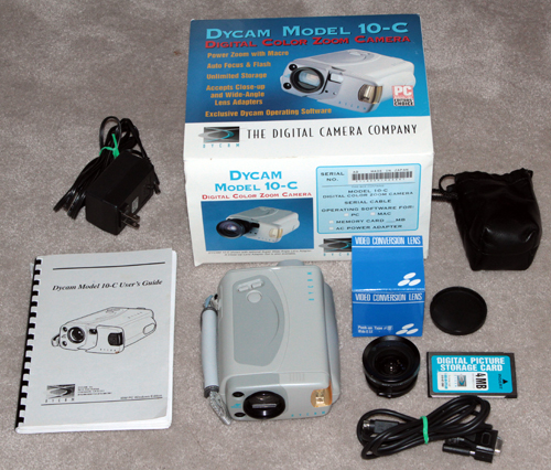 dycam 10-c digital camera set 1995