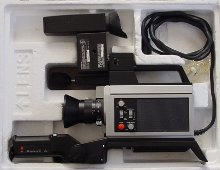 fisher cam-500 video camera
