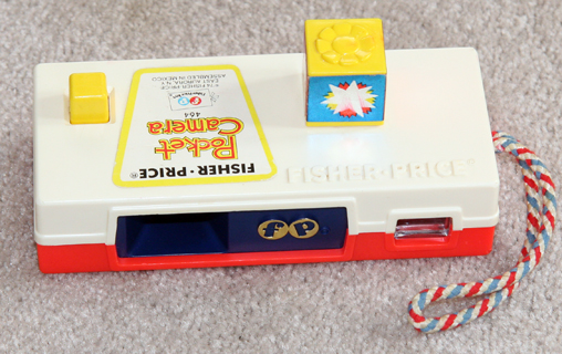 fisher price go to the zoo toy camera 1973