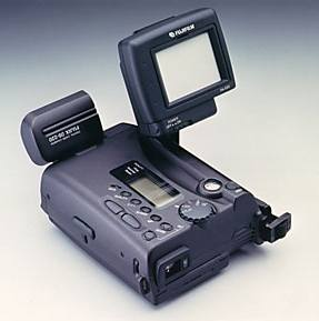 fujix ds-220 digital camera topview 1995