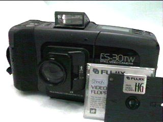 fujix es-30tw still video camera 1988