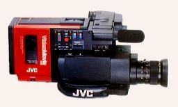 jvc gr-c1 vhs video camcorder 1984