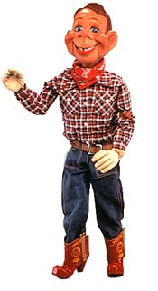 howdy doody tv program wsas the first all-color tv series 1955