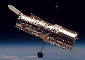 hubble space telescope in space 1990