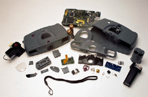 intel pc camera disassembled