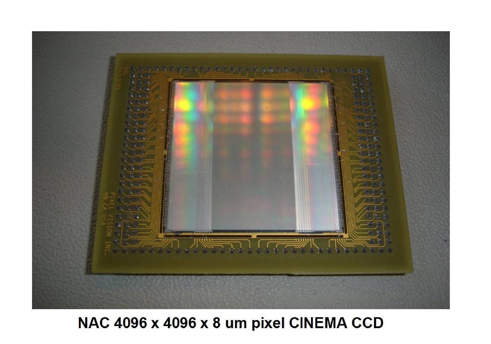 Janesick NAC 4096 x 4096 commercial Cinema CCD imager