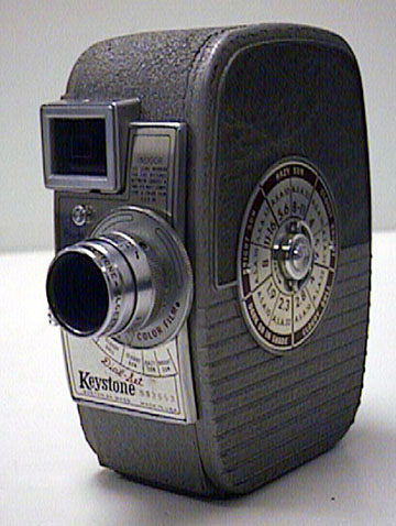 Keystone_K-25_Capri vintage 8 mm movie camera 1946