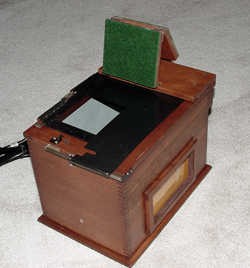 kodak amateur contact printer improved model top view
