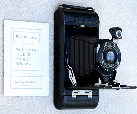 kodak 1a folding pocket autographic film camera 1914