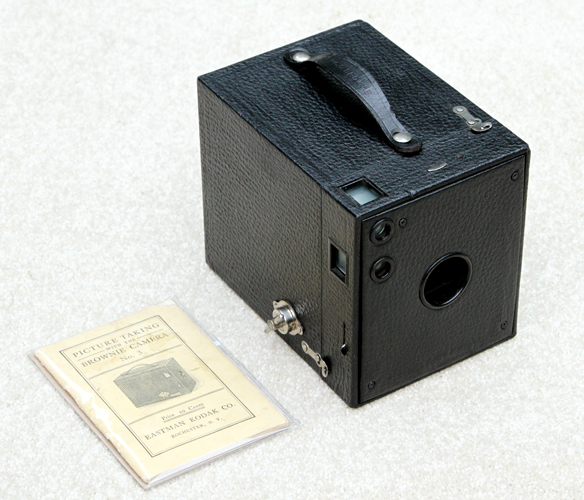 kodak brownie no. 3 box film camera 1908
