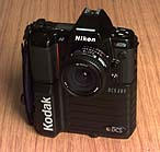 kodak dcs 200 nikon n8008s digital slr camera 1992