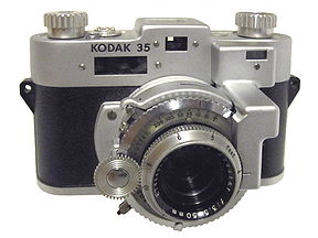kodak 35 mm rangefinder vintage film camera 1940