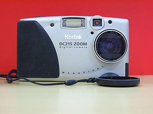 kodak dc215 zoom vintage digital camera 1999
