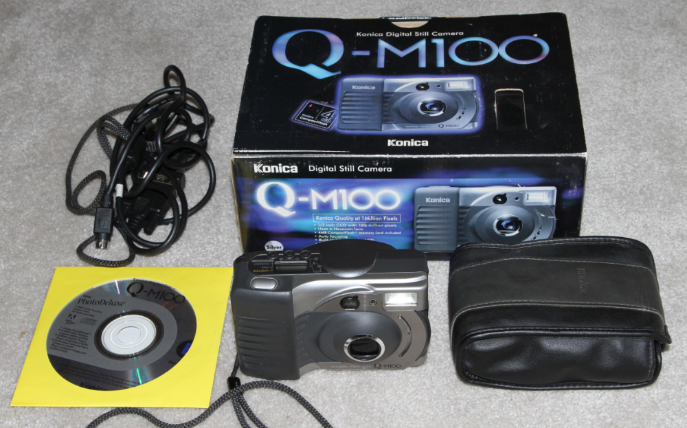 Konica QM-100 digital camera kit