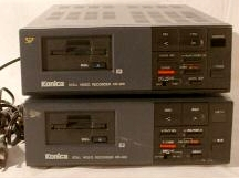 konica kr-400 still video player front view 1988