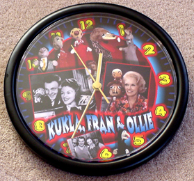 kukla, fran and ollie tv program clock