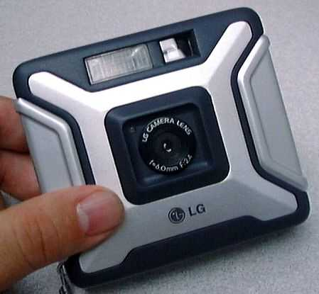 lg electronics artshot ldc-f10 vintage digital camera 1998