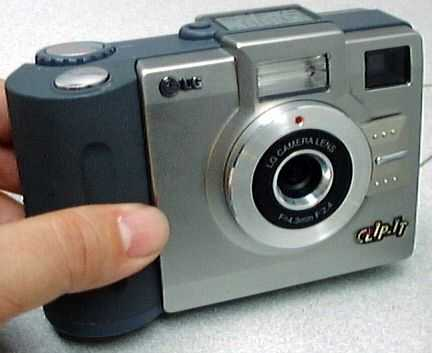 lg electronics artshot ldc-f30 vintage digital camera 1998