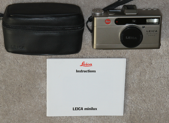 leica minilux zoom vintage digital camera 1998