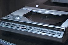 Magnavox VH-8000 optical disk player
