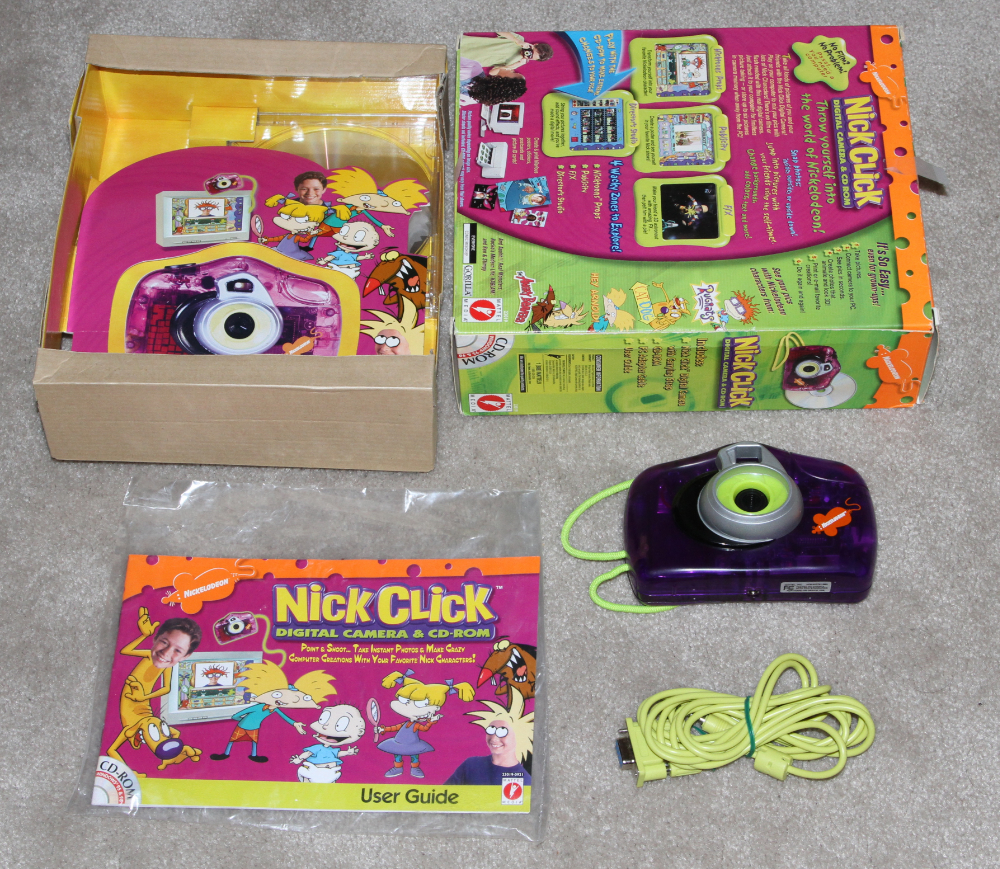 Mattel Nick Click digital camera kit