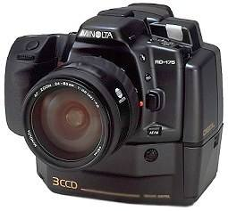 minolta rd-175, agfa actioncam professional dslr digital camera 1995