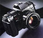 minolta maxxum 7000 and 9000 slr film cameras 1985