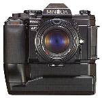 minolta maxxum 7000 and 8000 camera with winder 1985